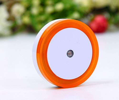 Runde Halo Lichtsteuerung Nachtlampe Led-induktionslampe Pingtang Fütterungslampe Kinderlampe 0,7 Runde Halo Orange American Rules (Außenhandel) (Halos Orangen)