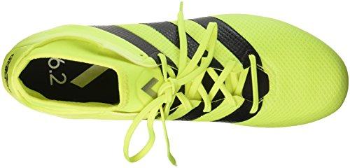 adidas Herren Ace 16.2 Primemesh Fußball-Trainingsschuhe Multicolore (Syello/Cblack/Silvmt)