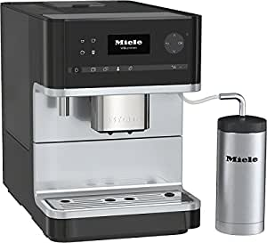 Miele CM 6310Freestanding Fully Automatic Espresso Machine 1.8L 14tazas Black–Coffee (Freestanding, Espresso Machine, 1.8L, Mill Built-in, 1500W, Black)
