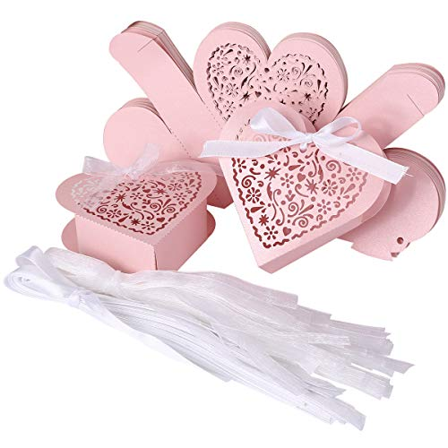 SurePromise One Stop Solution for Sourcing Laser Cut Herz Form Hochzeit Favor Schokolade Candy Geschenk-Boxen