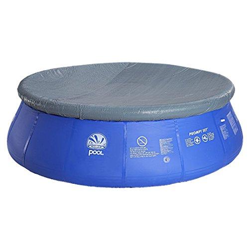 Jilong Pool-Abdeckung rund Abdeckplane für Quick-Up Pool Gr. Ø 420 - 427 cm runde Fast Set Pool Prompt Set Schimmbecken Schwimmbad Cover