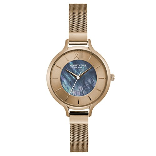 Kenneth Cole New York da donna orologio da polso analogico al quarzo acciaio inossidabile kc15187001