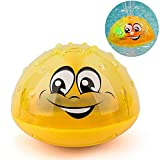 Aokebeey Kinder Schwimmende Badespielzeug Wasserspielzeug mit Licht, Automatische Induktions...
