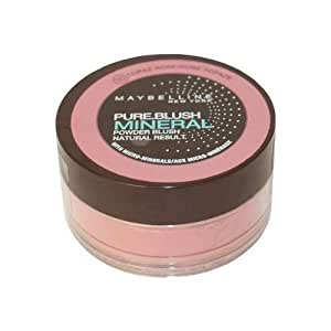 Blush - Pure Mineral - N°10 Rose Topaze - Gemey Maybelline