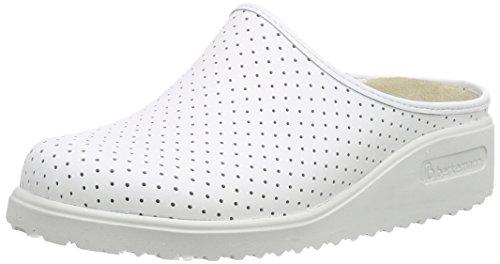 BerkemannTec-Pro Thordu - Sabot/sandali unisex adulto Bianco (bianco)