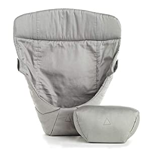 ERGObaby Infant insert for Baby Carrier Collection Original (3.2 - 5.kg), Cotton Grey   14