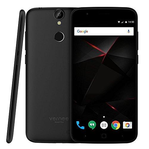 """Vernee Thor 4G LTE Smartphone Android MTK6753 Octa Core 5"""" Pantalla HD 3 GB de RAM 16GB de ROM 5MP 13MP Cámaras Duales Fingerprint ID Carga Rápida"""