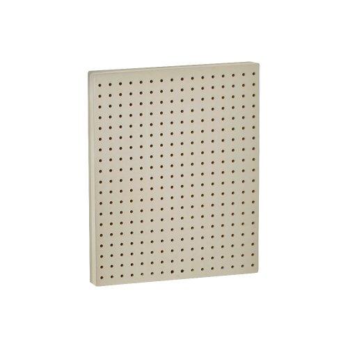 Azar 771620-alm Stecktafel einseitig Wand Panel, Mandel Farbe, 2er Pack