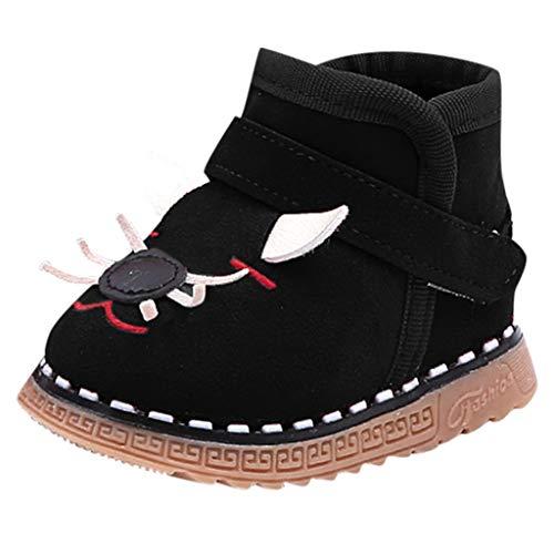 Vovotrade ❅ Scarponi Caldi Caldi del Bambino di Inverno del Fumetto degli Stivali Caldi Vellutati Caldi del Bambino
