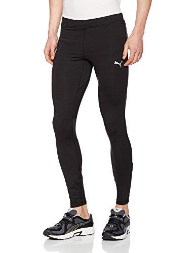 Puma Core-Run Long Tight Pantalones, Hombre, Negro, L