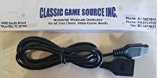 Classic Game Source Inc. 1 6FT Controller Extension Câble Cordon fil pour Sega Master System Controller