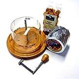Conjunto Completo Máquina de cortar del queso 1 en toda Pan ca 850g Tete de Moine Queso de cabeza...