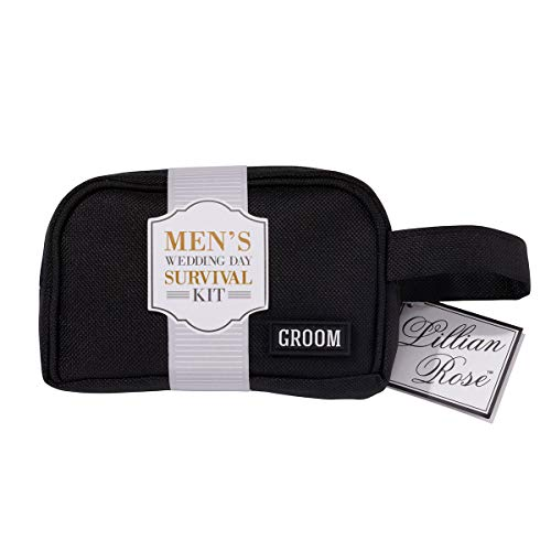 Lillian Rose Groom kit, Multi, Sac de survie Dimensions : 13,3 x 10,2 cm