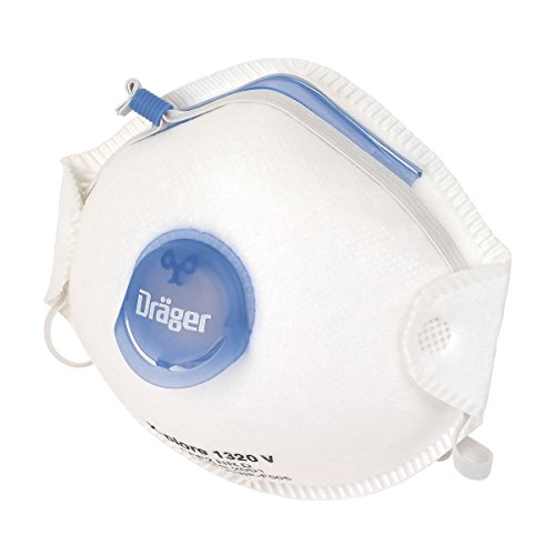 Drager Cup-Valved Dust Masks P2 Pack of 10