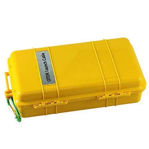 WOSOSYEYO FC / UPC-FC / UPC Professionelles Singlemode 2000M OTDR-Start Kabel Box Kabel (Farbe: gelb & zurück)