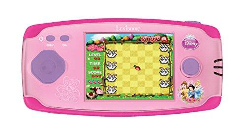 Disney Princesas Consola de Juegos Cyber Arcade, 150 Juegos  (Lexibook JL2360DP-2)