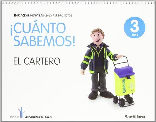 Cuanto Sabemos el Cartero Educ Infantil 3 Años Trabajo Por Proyectos los Caminos Del Saber Santillana - 9788468002194