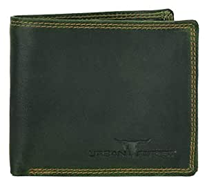 Urban Forest Newport Green Men's Leather Wallet