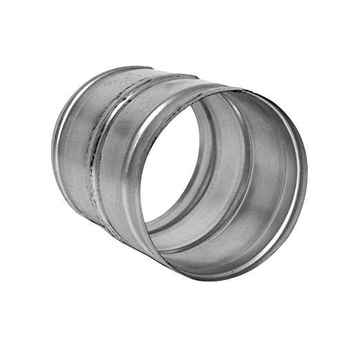 Jonction de gaine alu 125 mm mâle/mâle - conduit de ventilation Winflex