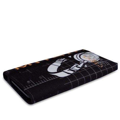 Stilbag Tasche 'MIKA' für Apple iPhone 4/4S - Design: Fairy Tree Headphones