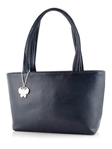 Butterflies Women's Handbag (Navy Blue)(Bns 0539 Nbl)