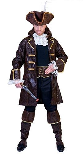 Kostüm Pirat Klassische - Funny Fashion Klassische Piraten-Kostüm Verkleidung komplett Mann