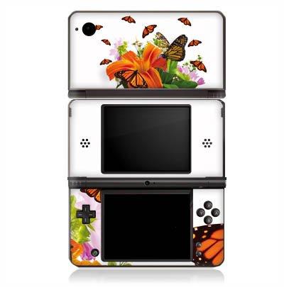 DeinDesign Skin kompatibel mit Nintendo DSi XL Aufkleber Sticker Folie Schmetterlinge Flower Blume