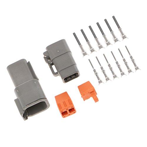 MagiDeal-Set-6-Pin-Terminale-Elettriche-Impermeabili-3-Vie-Connettore-Cavo-Auto
