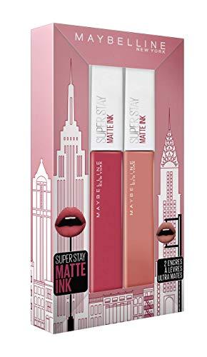 Maybelline New York Coffret Cadeau Superstay Matte Ink 65 Seductress/80 Ruler