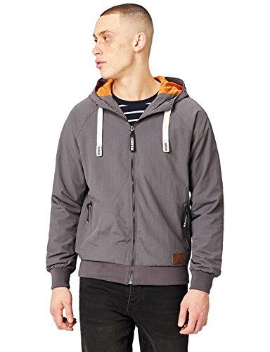HIKARO Herren Jacke mit Mesh, Grau (Charcoal), 54 (Herstellergröße: X-Large) Mesh-herren Jacke