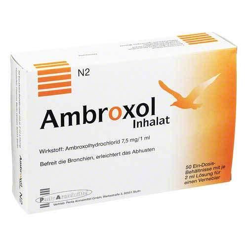 Ambroxol Inhalat 15ml/2ml 50X2 ml