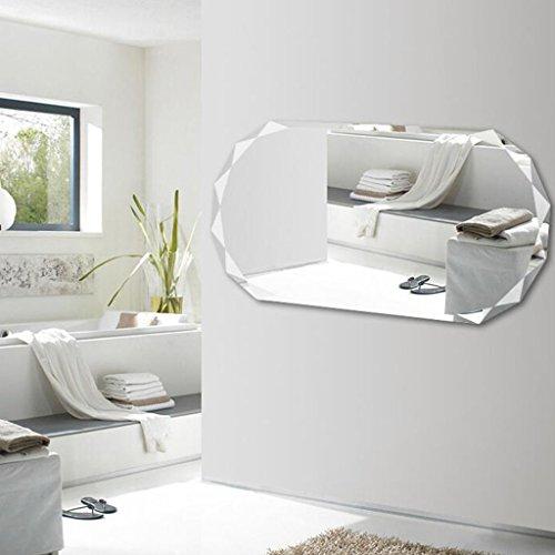 Attaccapanni Da Parete Con Specchio.Briskaari Shop Specchio Decorativo Con Attaccapanni A Muro Attaccato