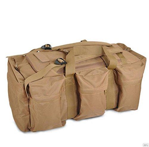 GOUQIN Outdoor Rucksack Klassische Mode Outdoor Schultern Package Tour Klettern Taschen King Size Gepäck. D