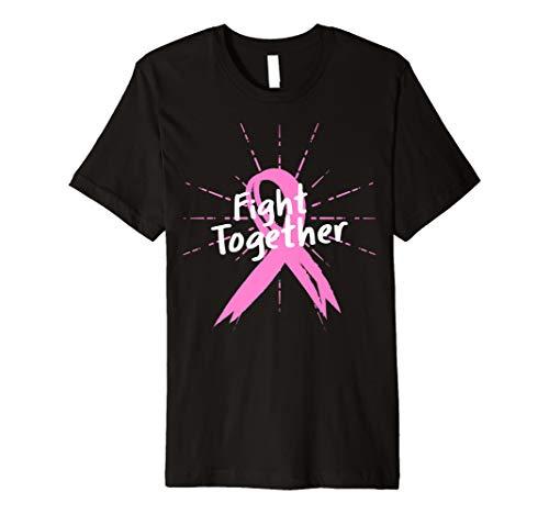 Brustkrebs Pink Ribbon Bewusstsein Survivor Schwester T-Shirt (Pink Spaziergänge Ribbon)