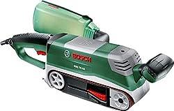Bosch PBS 75 AE Set. Tipo di levigatrice: Levigatrice a nastro. Potenza: 750 W. Peso: 3,5 kg, Dimensioni del piatto della levigatrice: 76 x 165 mm Dimensioni e peso -Peso: 3,5 kg -Dimensioni del piatto della levigatrice: 76 x 165 mm  Gestione energet...