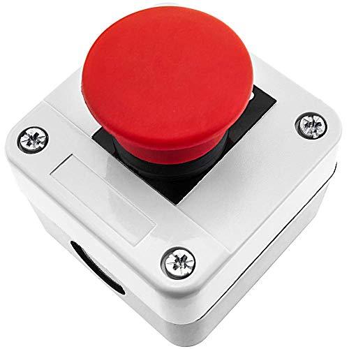 Caja de superficie para controles, pulsadores e interruptores, basados en perforaciones de diámetro 22 mm. Caja de plástico pensada para instalar en superficie (pared). Pulsadores e interruptores, para controles industriales, control de automatismos,...