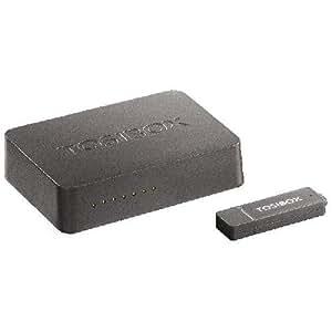 TBL1K1EU tOSIBOX, tOSIBOX lock-kIT set comprenant 1 tOSIBOX lock tOSIBOX key, 1 câble d'alimentation avec prise européenne