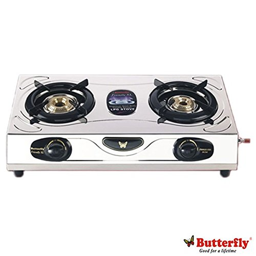 Butterfly Friendly 2 Burner Gas Stove