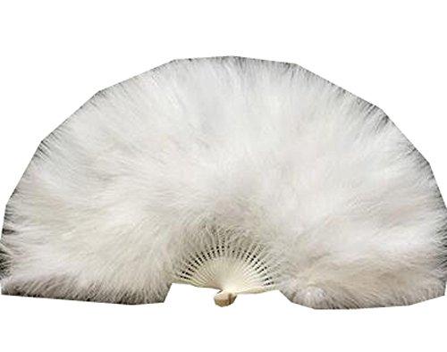 (Faltender Feder-Ventilator / Tanzender Fan / Laufsteg Führen Sie Fan 50x30CM (Weiß))