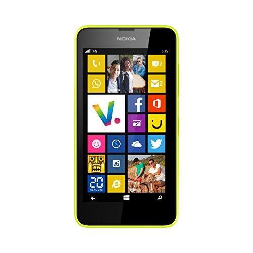 Nokia Lumia 635Smartphone entsperrt 4g 11,4cm (: 4,5Zoll-8GB-einfach Micro-SIM-Windows Phone 8.1) (Entsperrt Nokia Handys Lumia)