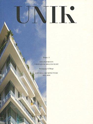 UNIK: 159 logements  Boulogne-Billancourt - Nature et architecture 2011-2016