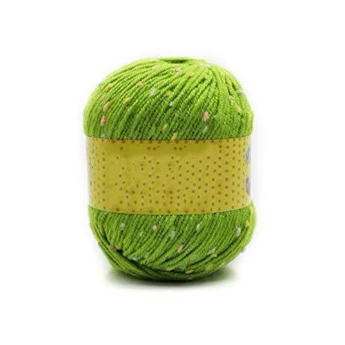 Hilo de lana gruesa de nailon para hacer ganchillo para DJI Spark para bordado DJI Mavic Pro (rojo), verde, Tamaño libre