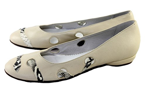 Piampiani Schuhe Shoe Slipper Loafers Made in Italy 46 Beige