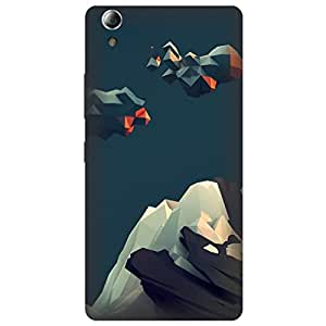Koolbug Himalay Illustration Hard Polycarbonate Designer Back Case Cover For Lenovo A6000 Plus