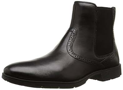 Rockport Tmps Chelsea, Chaussures de ville homme, Noir (Black), 40 EU