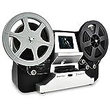 Rollo de película 8 mm y carretes de película Super8 (5'y 3 ') Digital Scanner Vido y digitalizador de película LCD 2,4, negro (Film2Digital MovieMaker) con tarjeta SD 32 GB