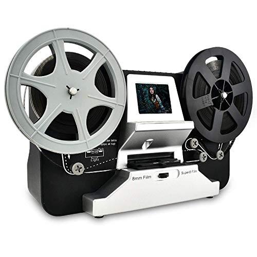 Super 8 & Normal 8 Filmscanner, 1080P HD Digitalisierer für Super 8 und 8 mm, mit 2,4