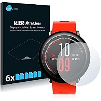 6X Savvies Ultra-Clear Screen Protector for Garmin DriveSmart 65 Simple Assembly accurately Fitting Residue-Free Removal