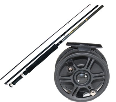 Grandeslam Carbo Strike Fly Fishing Rod And Reel Combo by Grandeslam