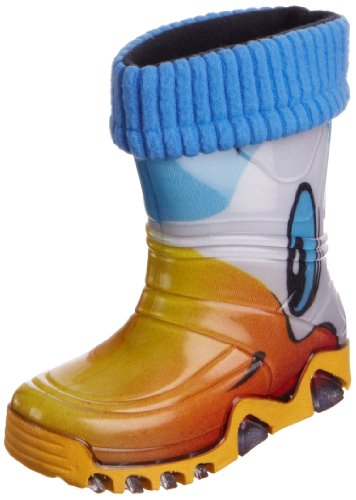 Toughees Unisex-Child Duck Wellington Boots Multi,12 UK Child Regular (30/31 EU)